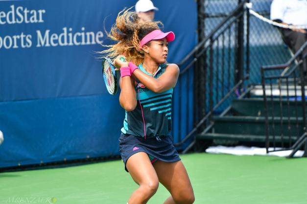 Naomi Osaka, 2018 Citi Open (Photo: Mike Renz for Tennis Atlantic)