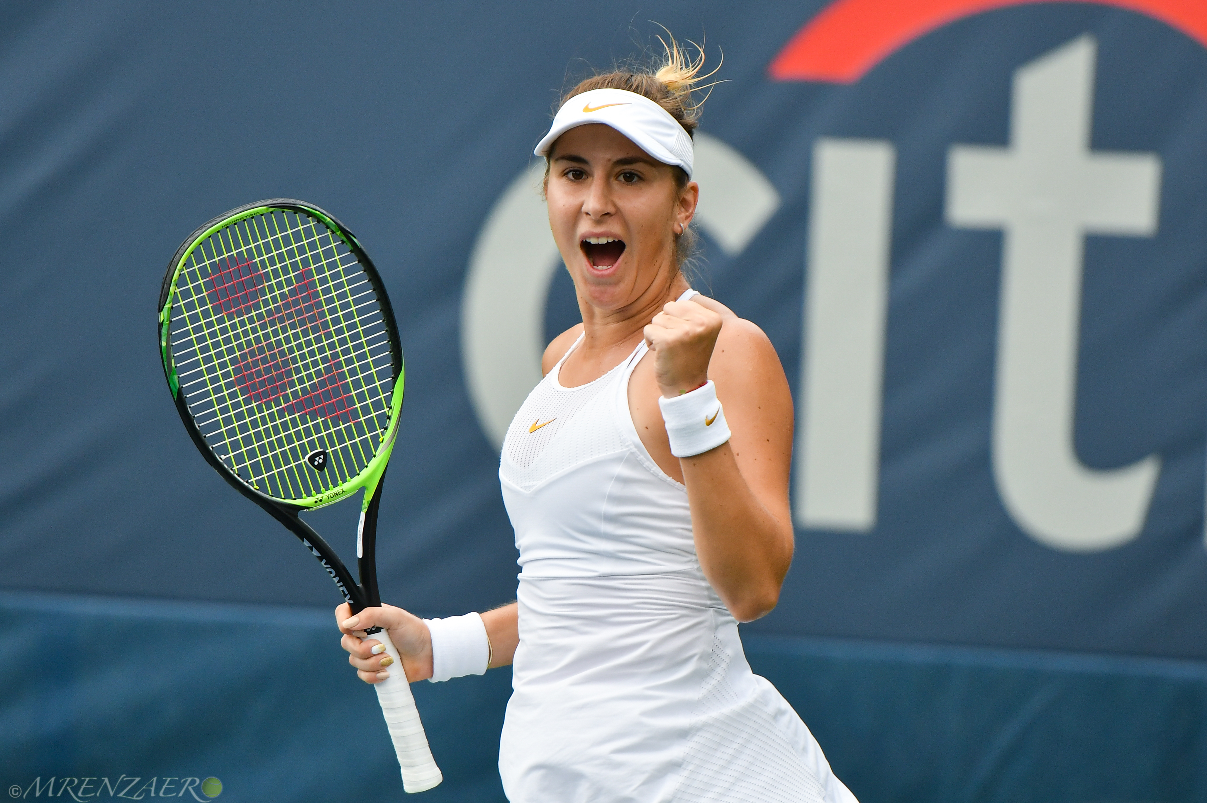 Belinda Bencic, 2018 Citi Open (Photo: Mike Renz for Tennis Atlantic)