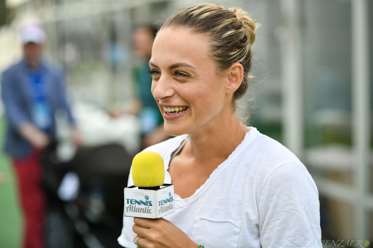 .@Ana_Bogdan Beats Defending @CitiOpen Champion Makarova; Exclusive Interview