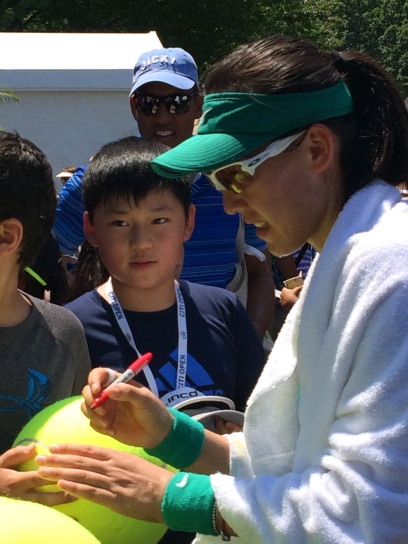 Saisai Zheng, 2018 Citi Open (Photo: Tennis Atlantic)