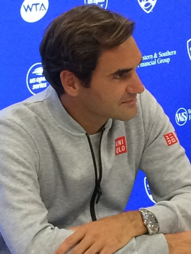 Roger Federer, 2018 Western & Southern Open (Photo: Tennis Atlantic)