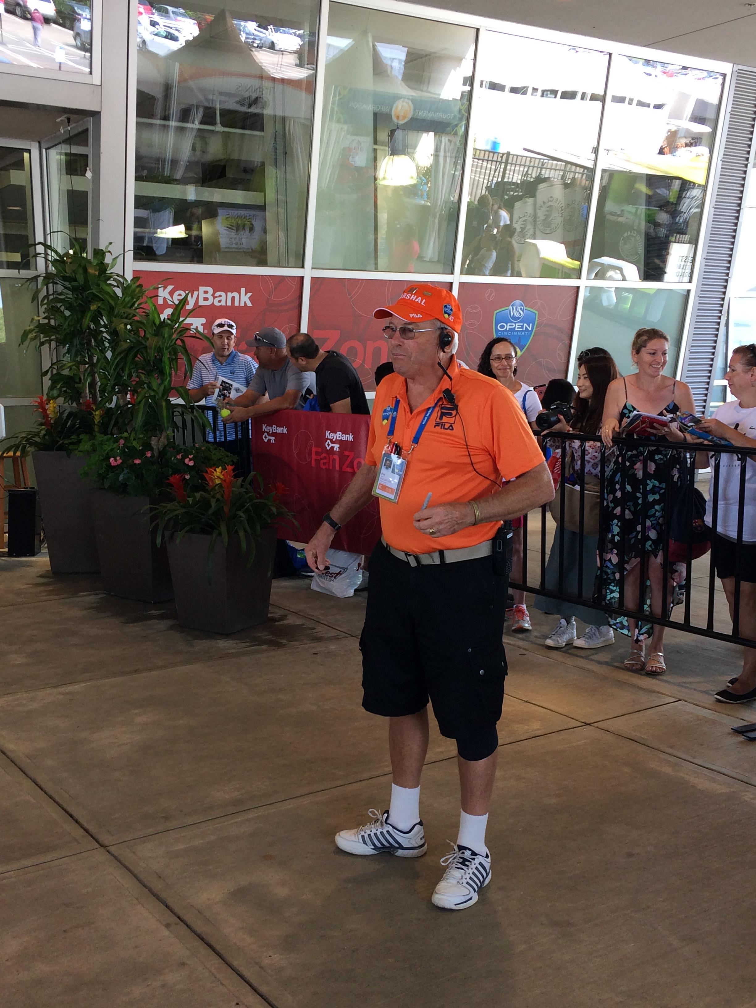 Phil Hinkle, 2018 Western & Southern Open (Photo: Tennis Atlantic)