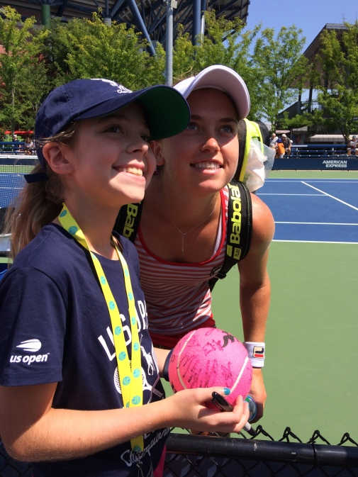 Francesca DiLorenzo, 2018 US Open (Photo: Tennis Atlantic)