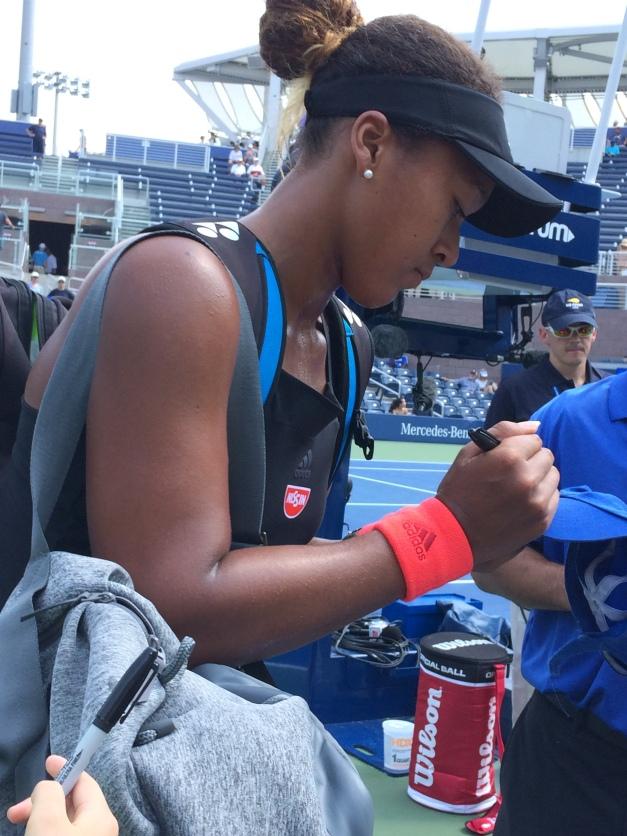 Naomi Osaka, 2018 US Open (Photo: Tennis Atlantic)