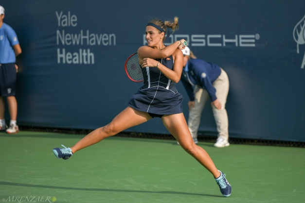 Monica Puig, 2018 Connecticut Open (Photo: Mike Renz for Tennis Atlantic)