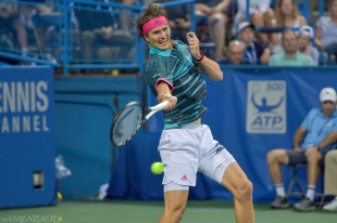 Sascha Zverev, 2018 Citi Open (Photo: Mike Renz for Tennis Atlantic)