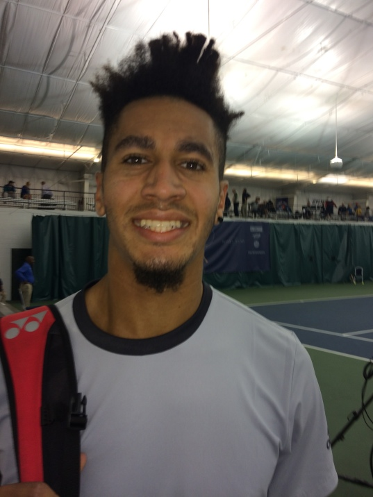 Michael Mmoh, 2018 Charlottesville Challenger