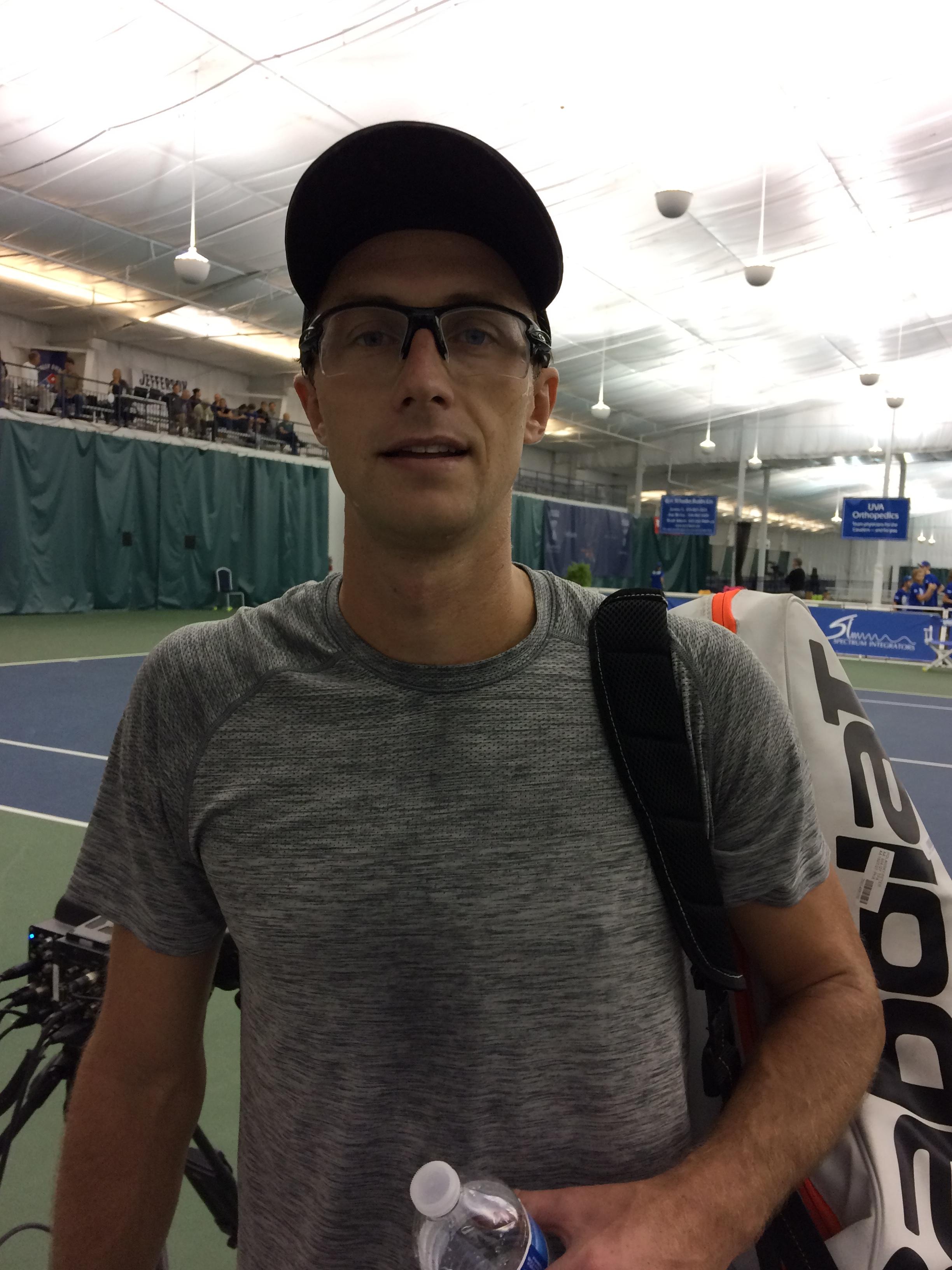 Peter Polansky, 2018 Charlottesville Challenger (Photo: TennisAtlantic.com)