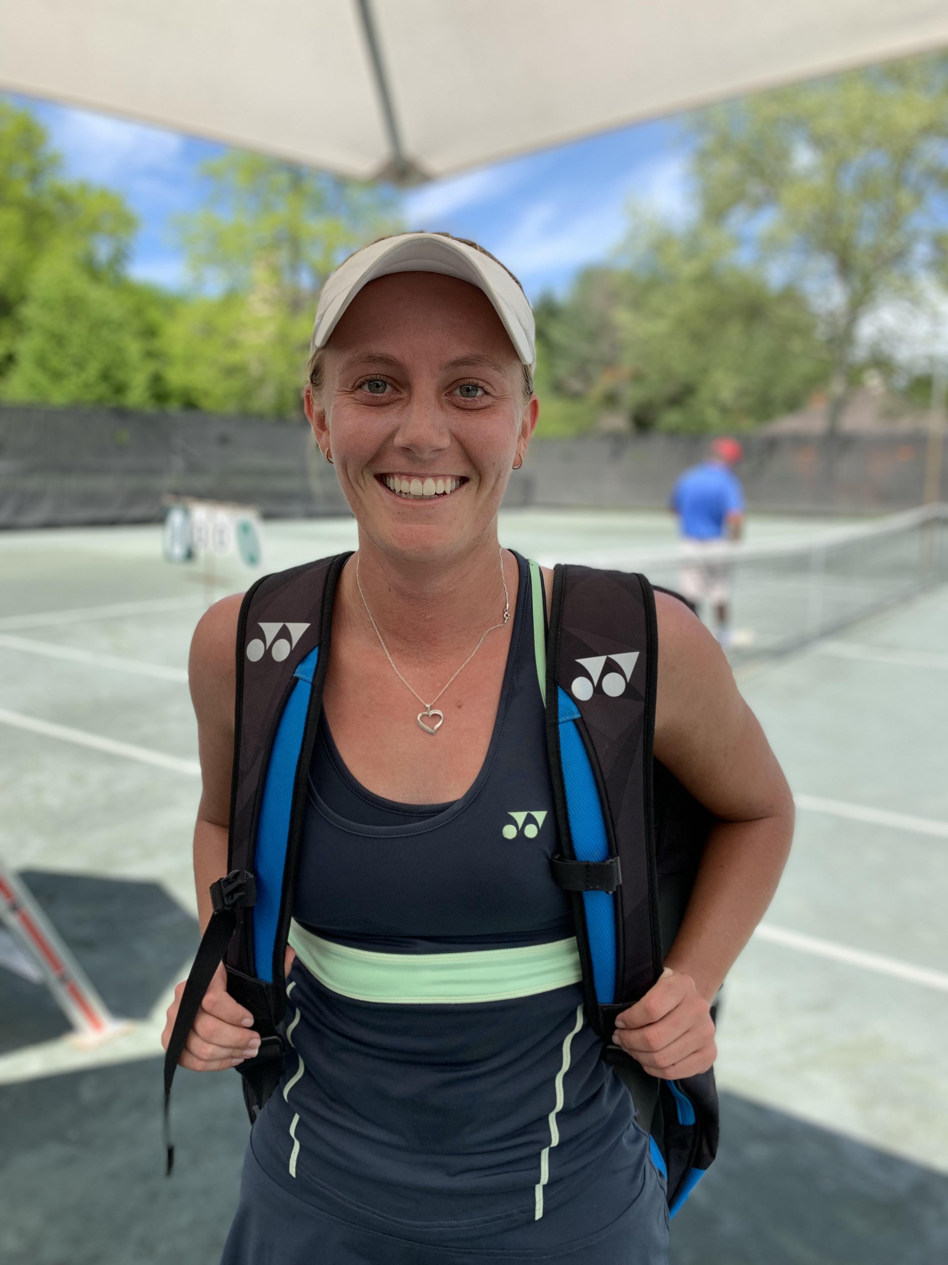 Zoe Hives, 2019 Boar's Head Women's Tennis Open