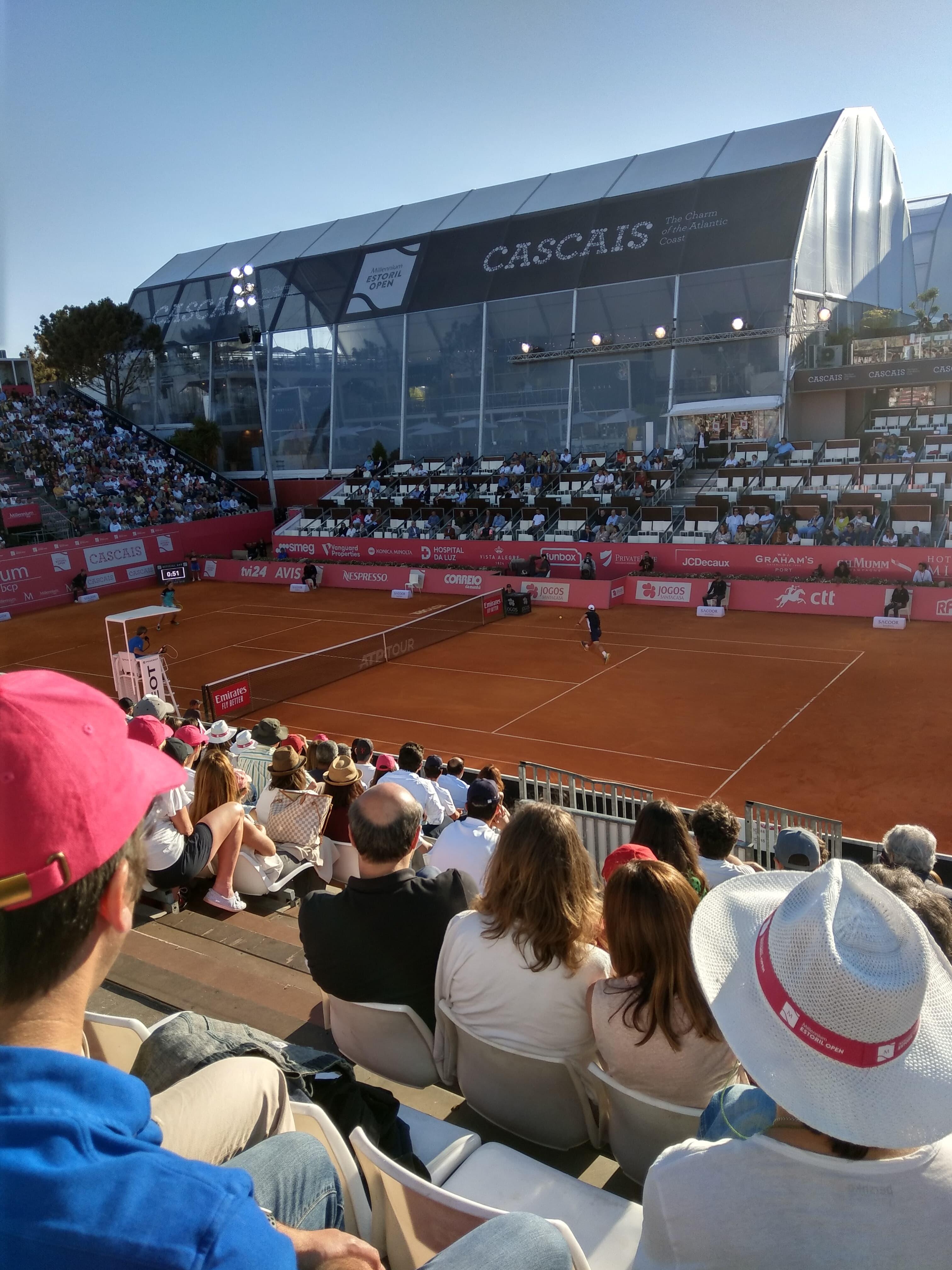 Estoril Open Semifinals Stefanos Tsitsipas And Pablo Cuevas Book Finals Places Tennis Atlantic