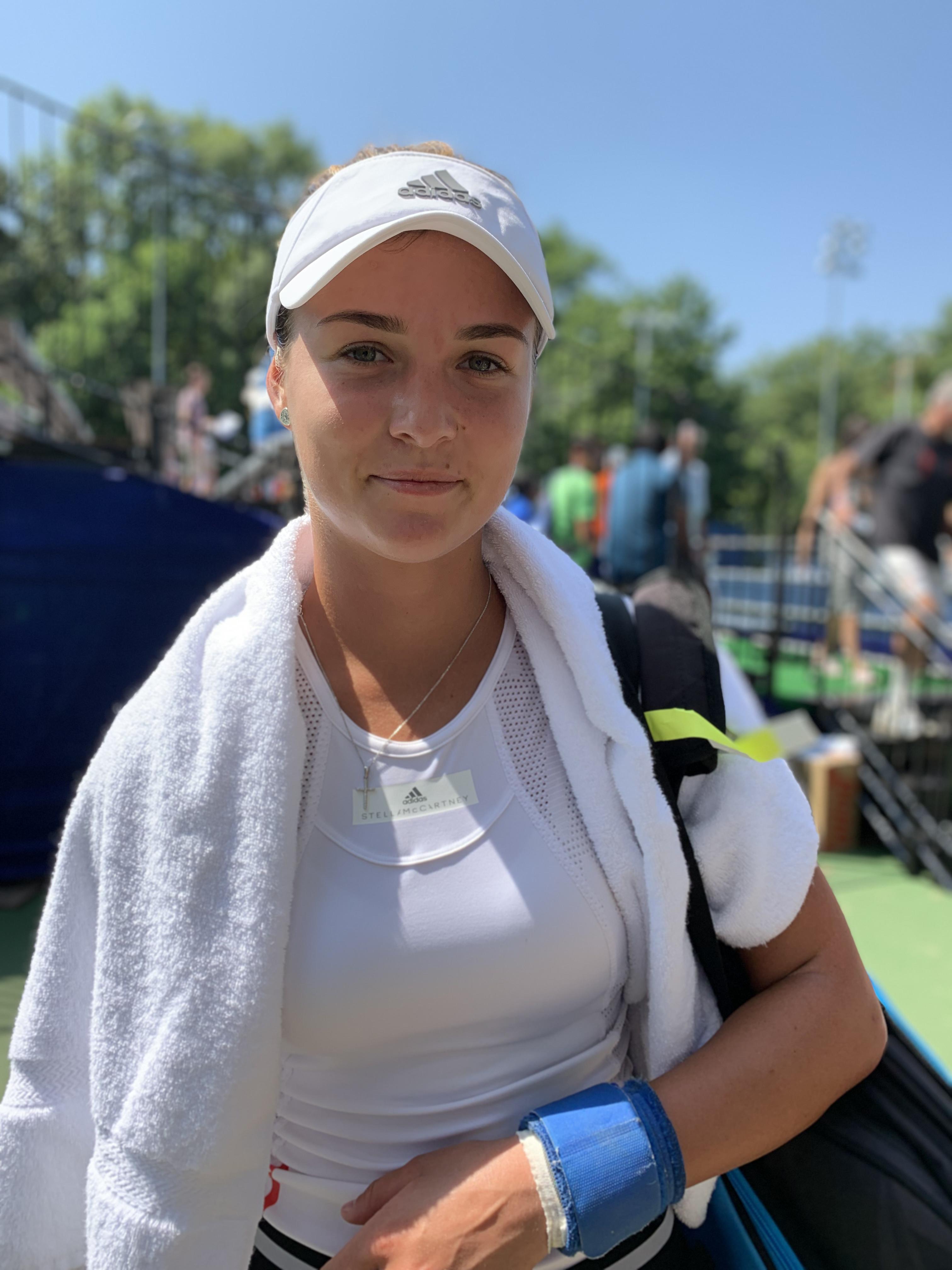 Anna Kalinskaya, 2019 Citi Open (TennisAtlantic.com)