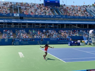 Coco Gauff, 2019 Citi Open (TennisAtlantic.com)