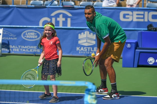 Nick Kyrgios, 2019 Citi Open (Mike Renz for Tennis Atlantic)