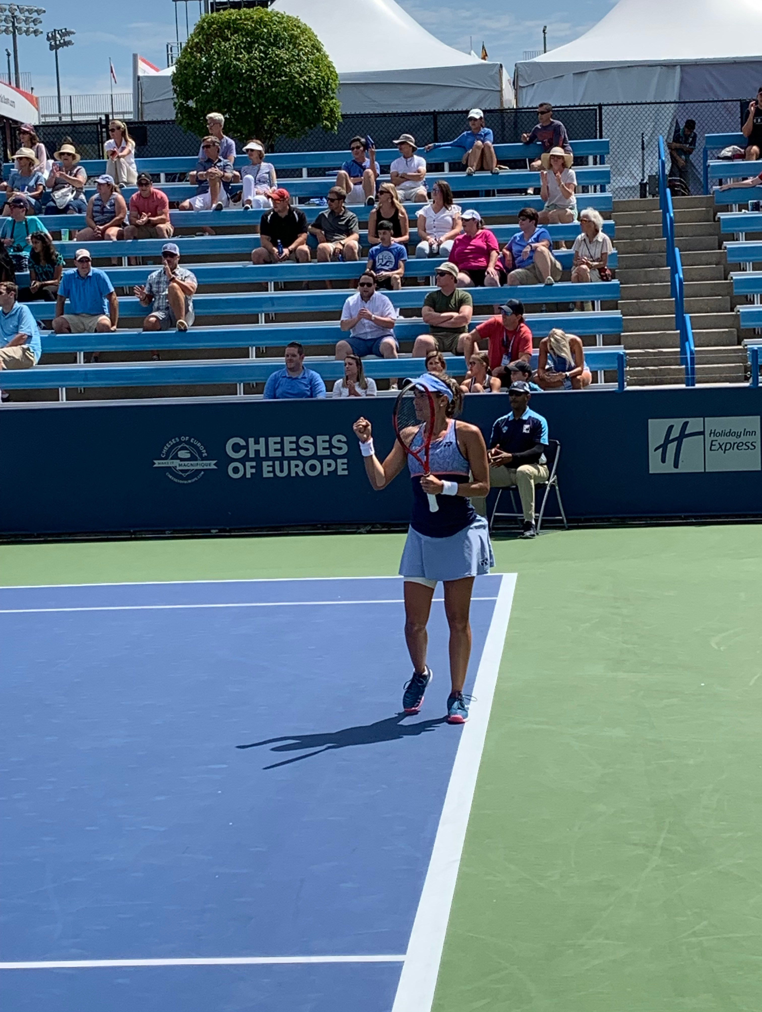 Monica Puig. 2019 Western & Southern Open