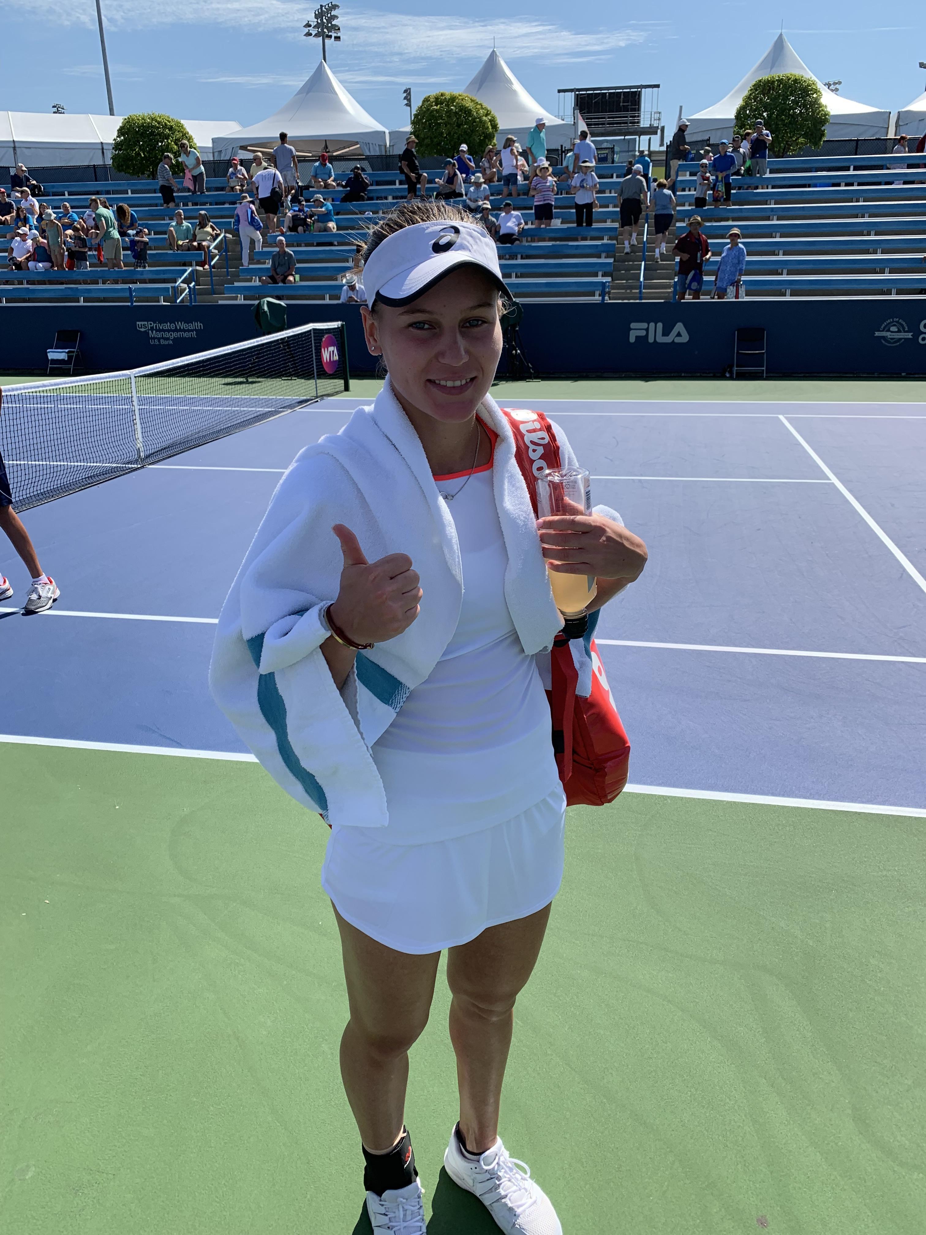 Veronika Kudermetova, 2019 Western & Southern Open (Photo: TennisAtlantic.com)
