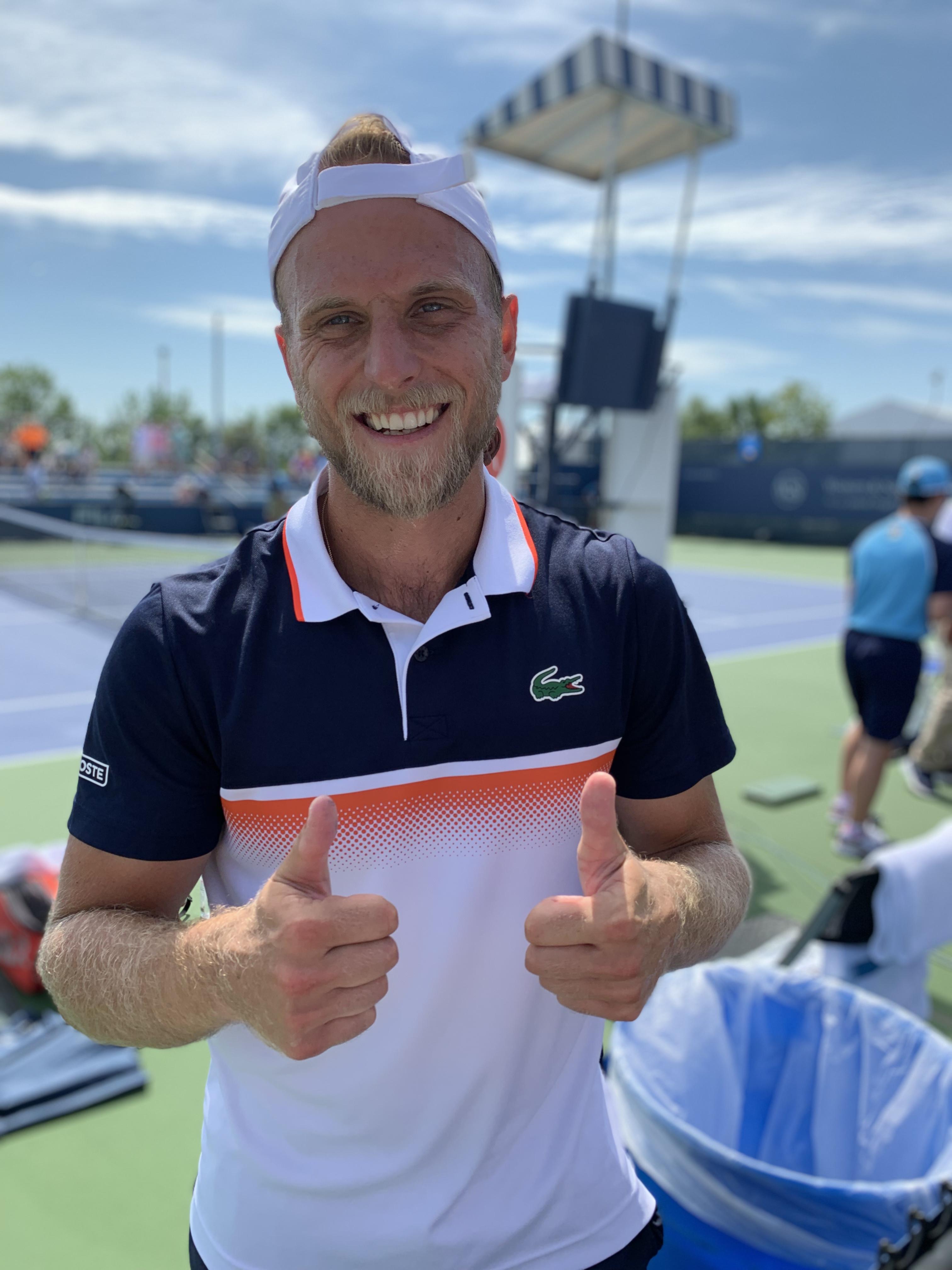 Denis Kudla, 2019 Western & Southern Open (Photo: Mike Renz for TennisAtlantic.com)