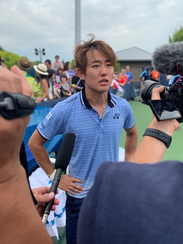 Yoshihito Nishioka, 2019 Western & Southern Open