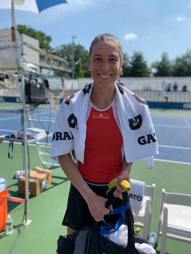 Andrea Petkovic, 2019 Bronx Open (Photo: TennisAtlantic.com)