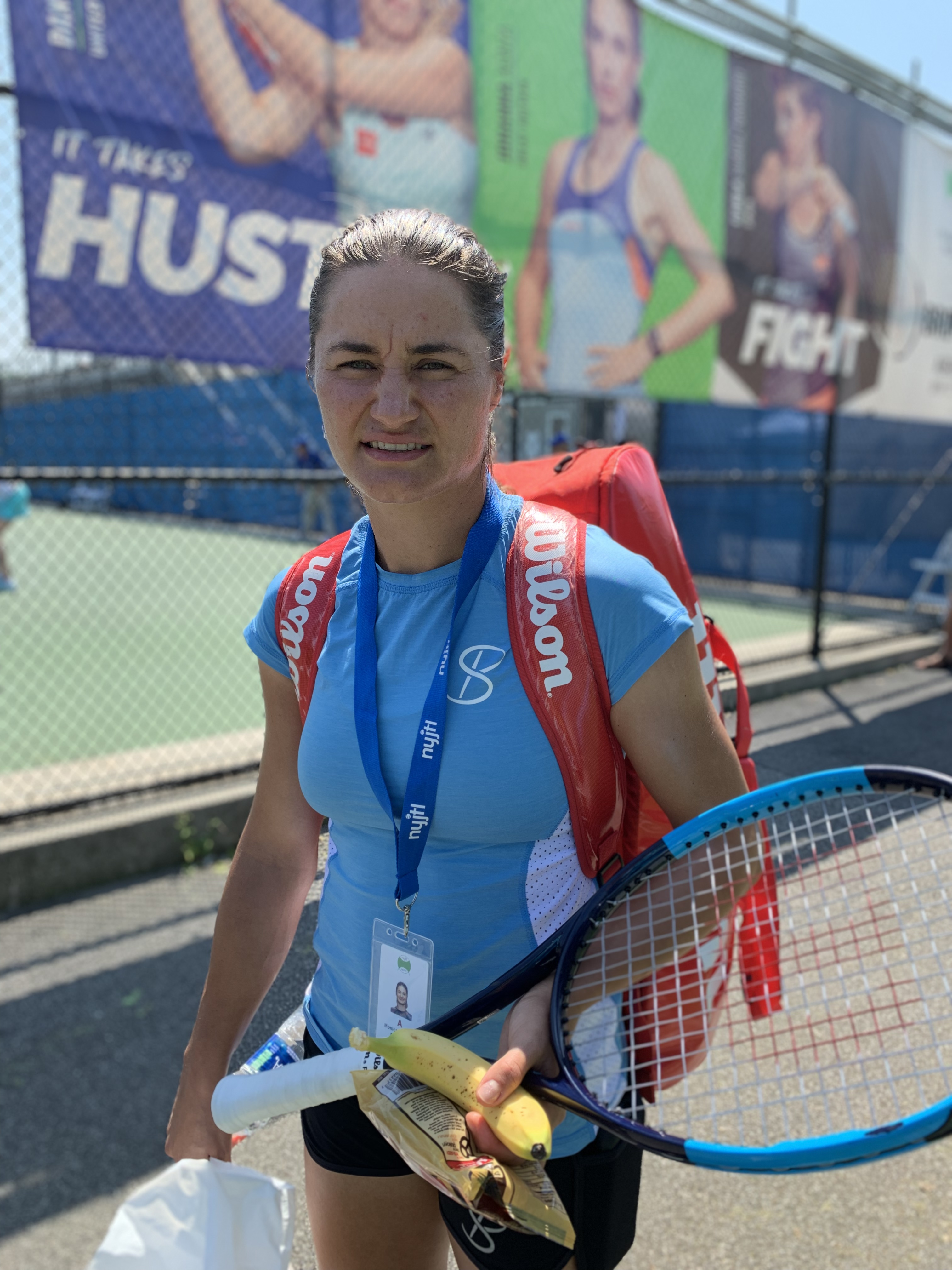 Monica Niculescu, 2019 Bronx Open (Photo: TennisAtlantic.com)