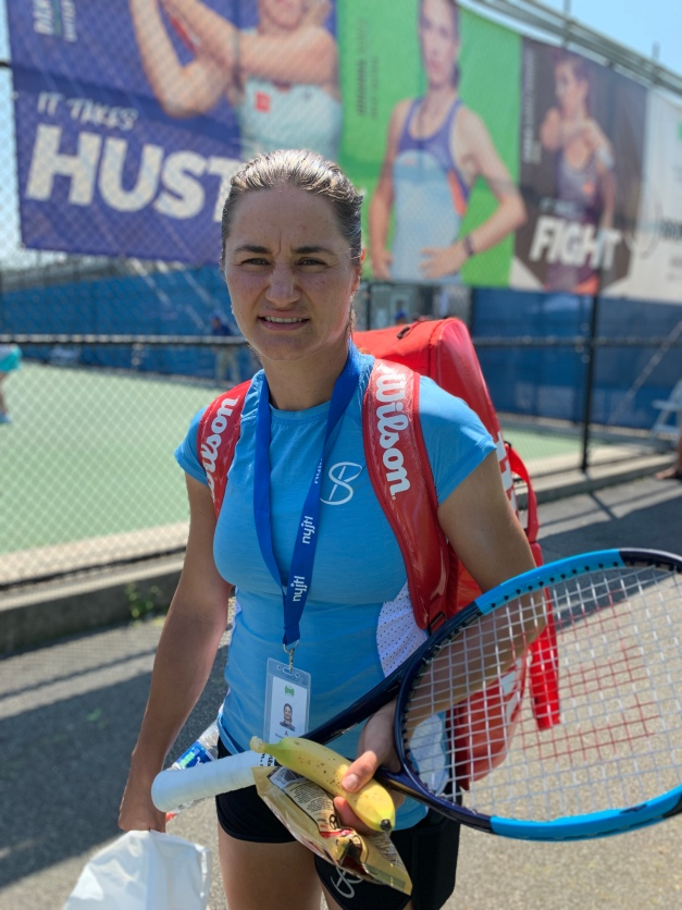 Monica Niculescu, 2019 Bronx Open (Photo: TennisAtlantic.com)