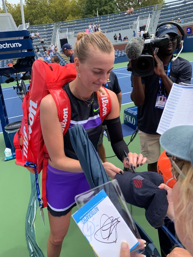 Petra Kvitova 2019 US Open (Photo: Tennis Atlantic)