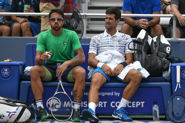 Tipsarevic & Djokovic, 2019 Western & Southern Open Photo: