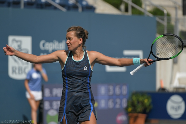 Barbora Strycova, 2019 Bronx Open (Photo: Mike Renz for Tennis Atlantic)