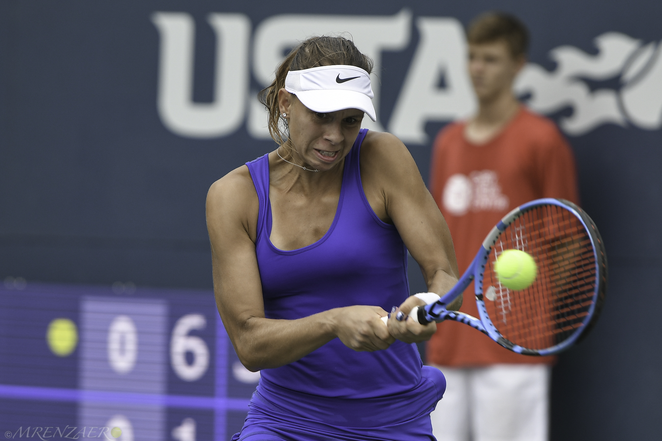 Magda Linette, 2019 Bronx Open (Photo: Mike Renz for TennisAtlantic.com)