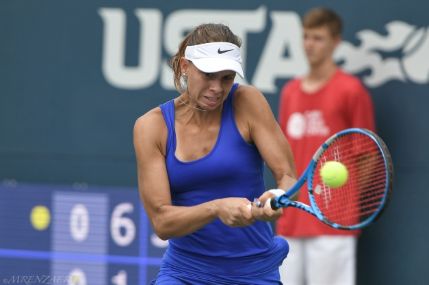 Magda Linette, 2019 Bronx Open (Photo: Mike Renz for TennisAtlantic.com)