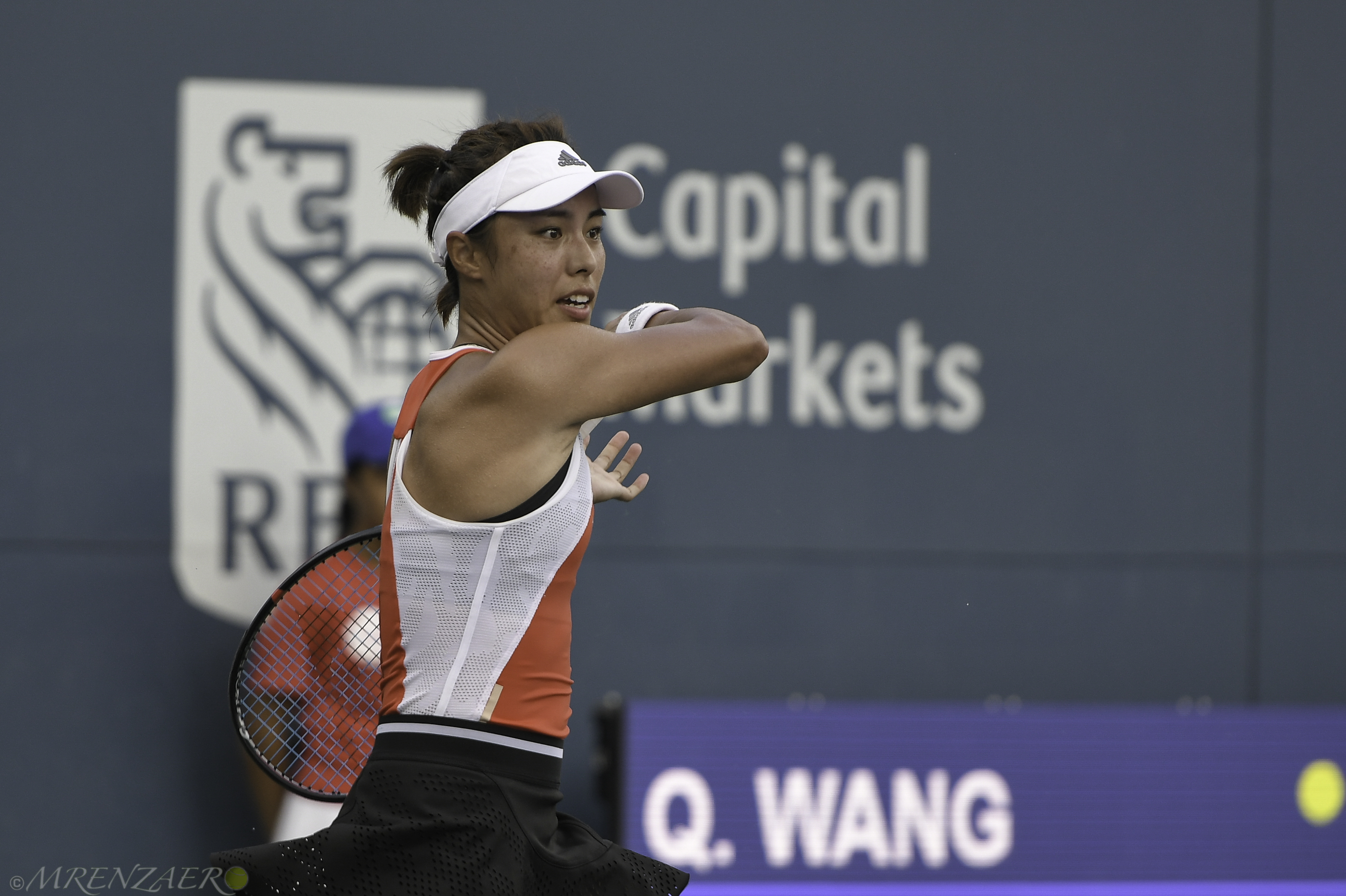 Wang Qiang, 2019 Bronx Open (Photo: Mike Renz for TennisAtlantic.com)