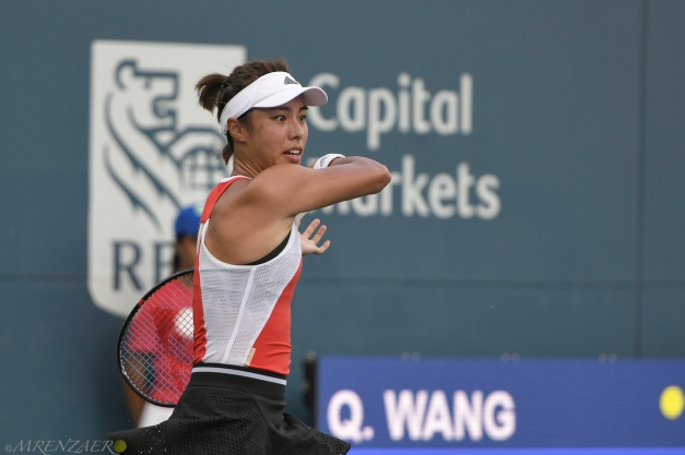 Wang Qiang, 2019 Bronx Open (Photo: Mike Renz for TennisAtlantic.com)