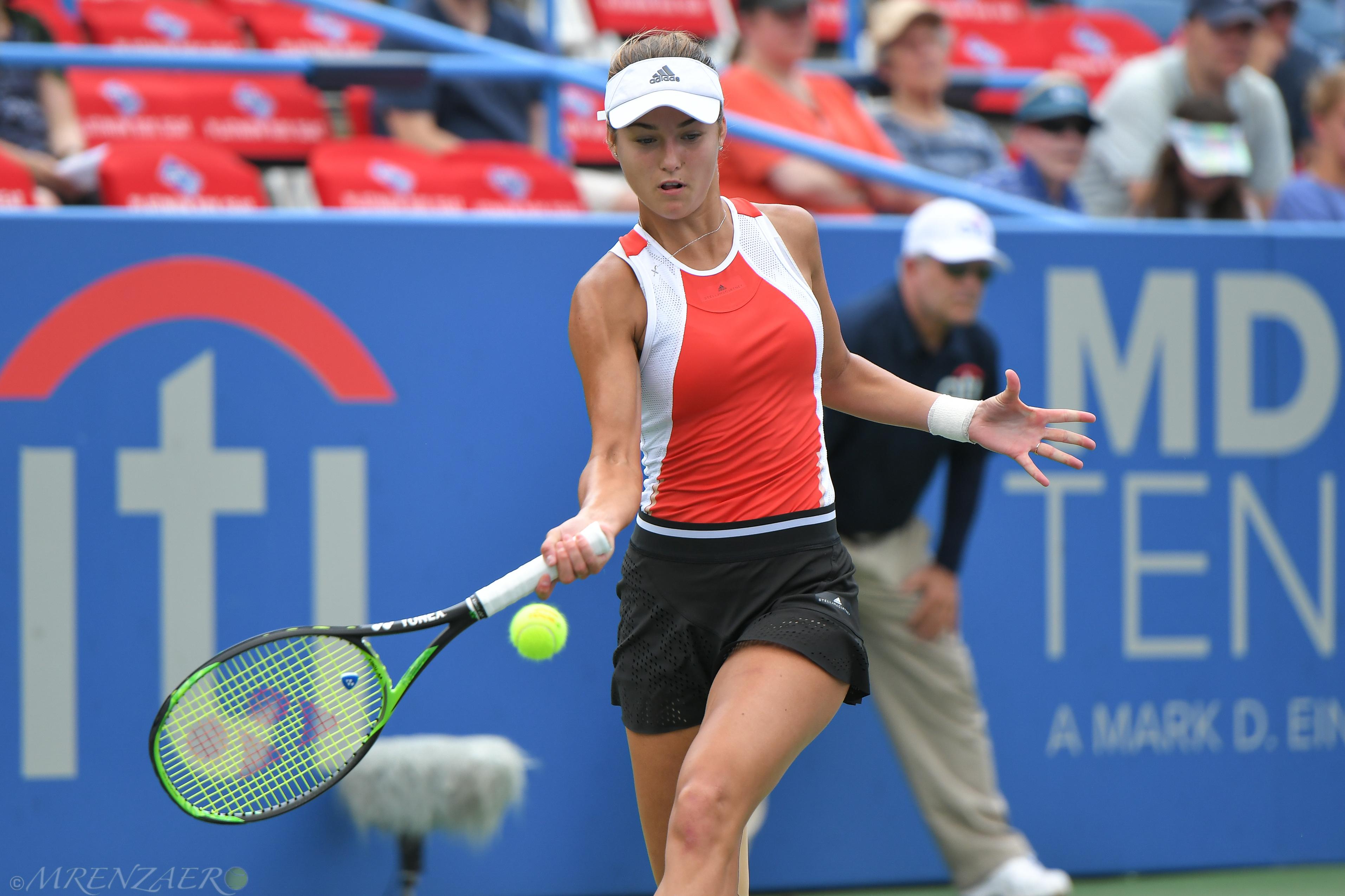 Anna Kalinskaya 2019 Citi Open (Photo: Mike Renz for TennisAtlantic.com)