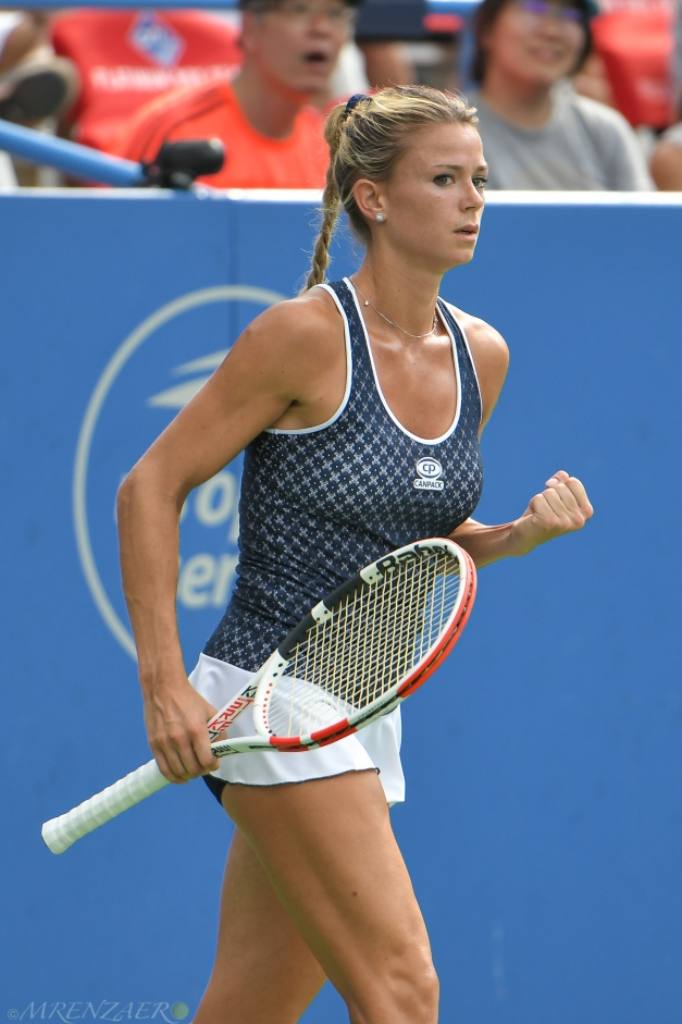 Camila Giorgi, 2019 Citi Open (Photo: Mike Renz)