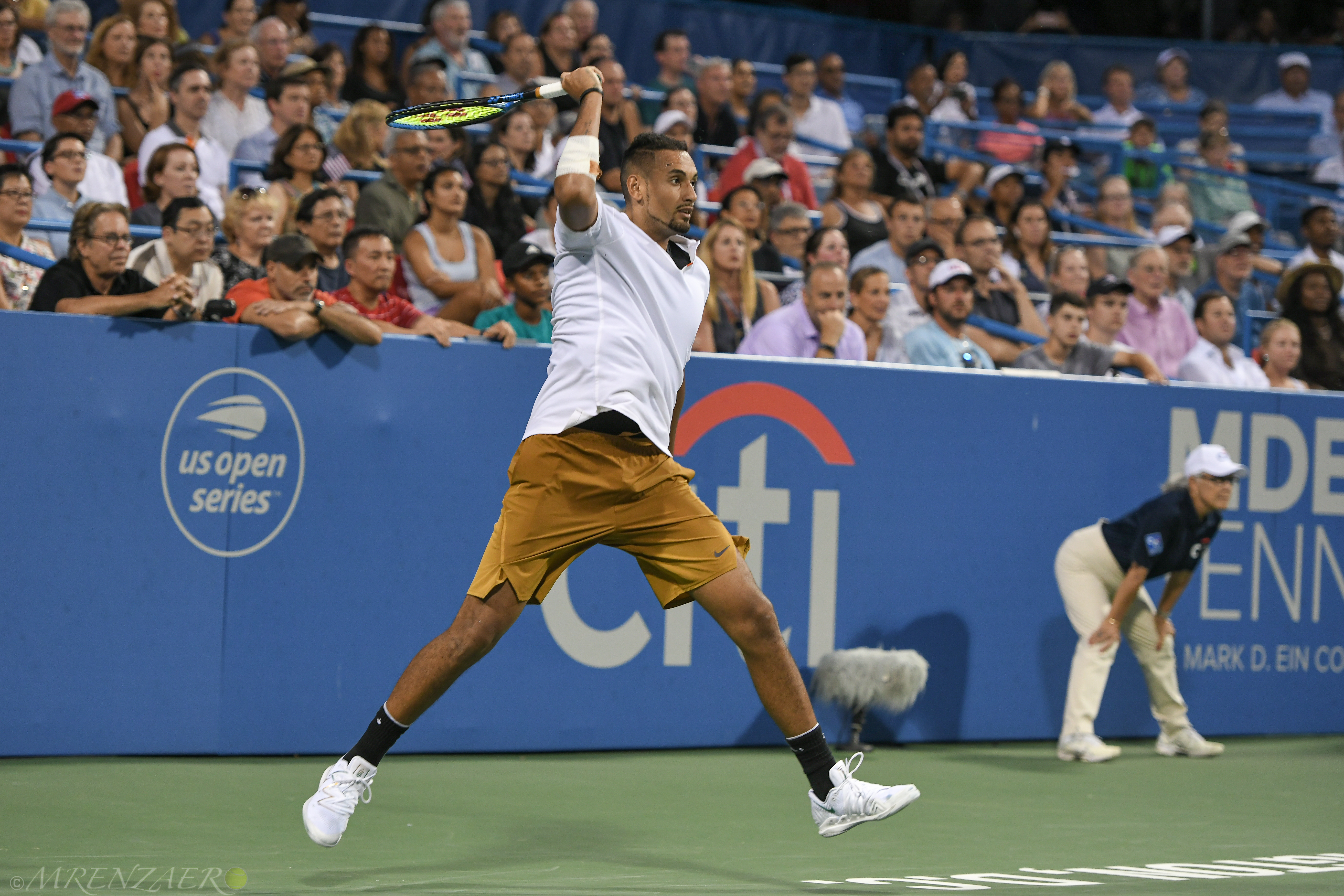 Nick Kyrgios, 2019 Citi Open (Photo: Mike Renz)
