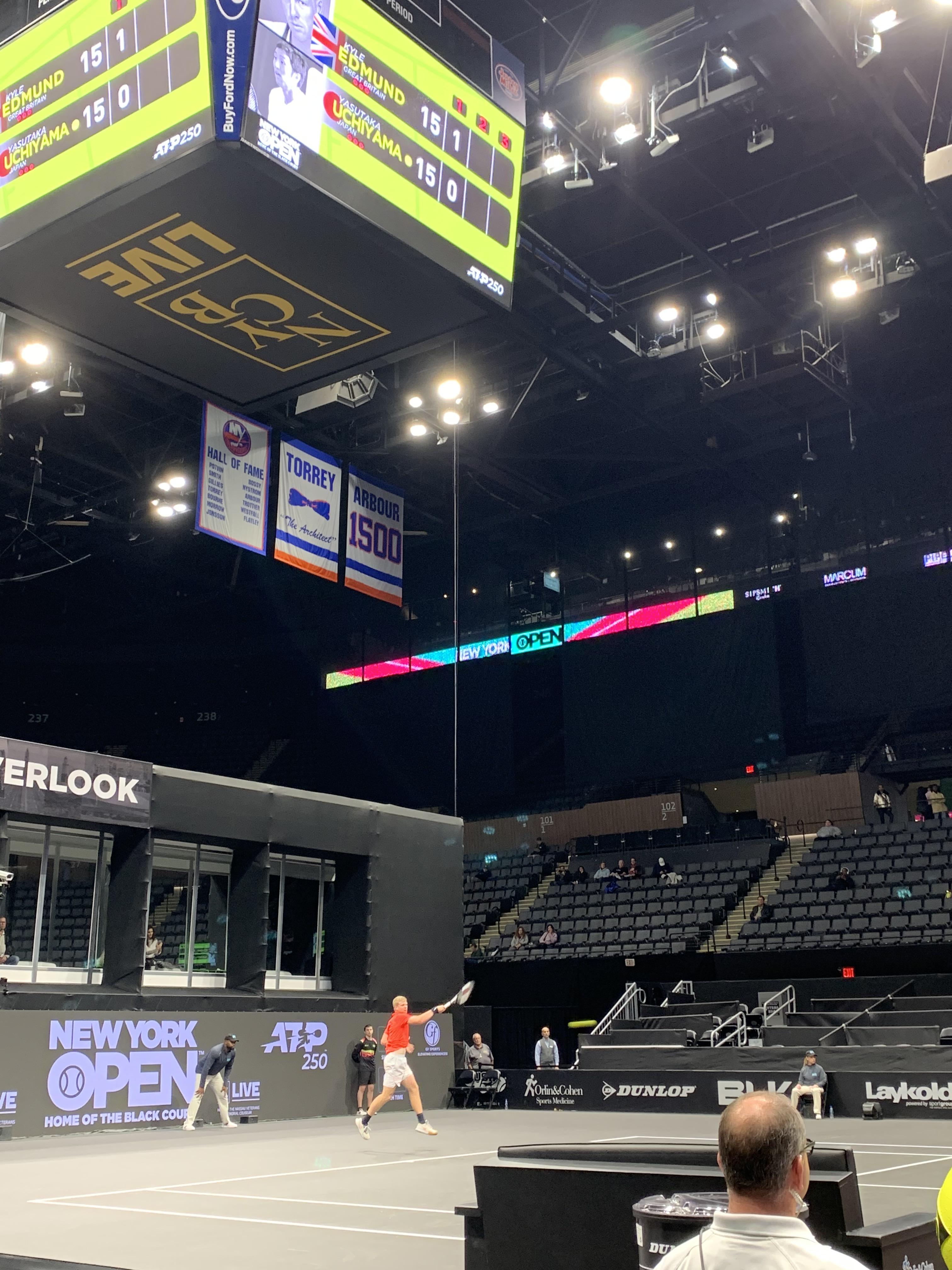 Kyle Edmund, 2020 New York Open (Photo: TennisAtlantic.com)
