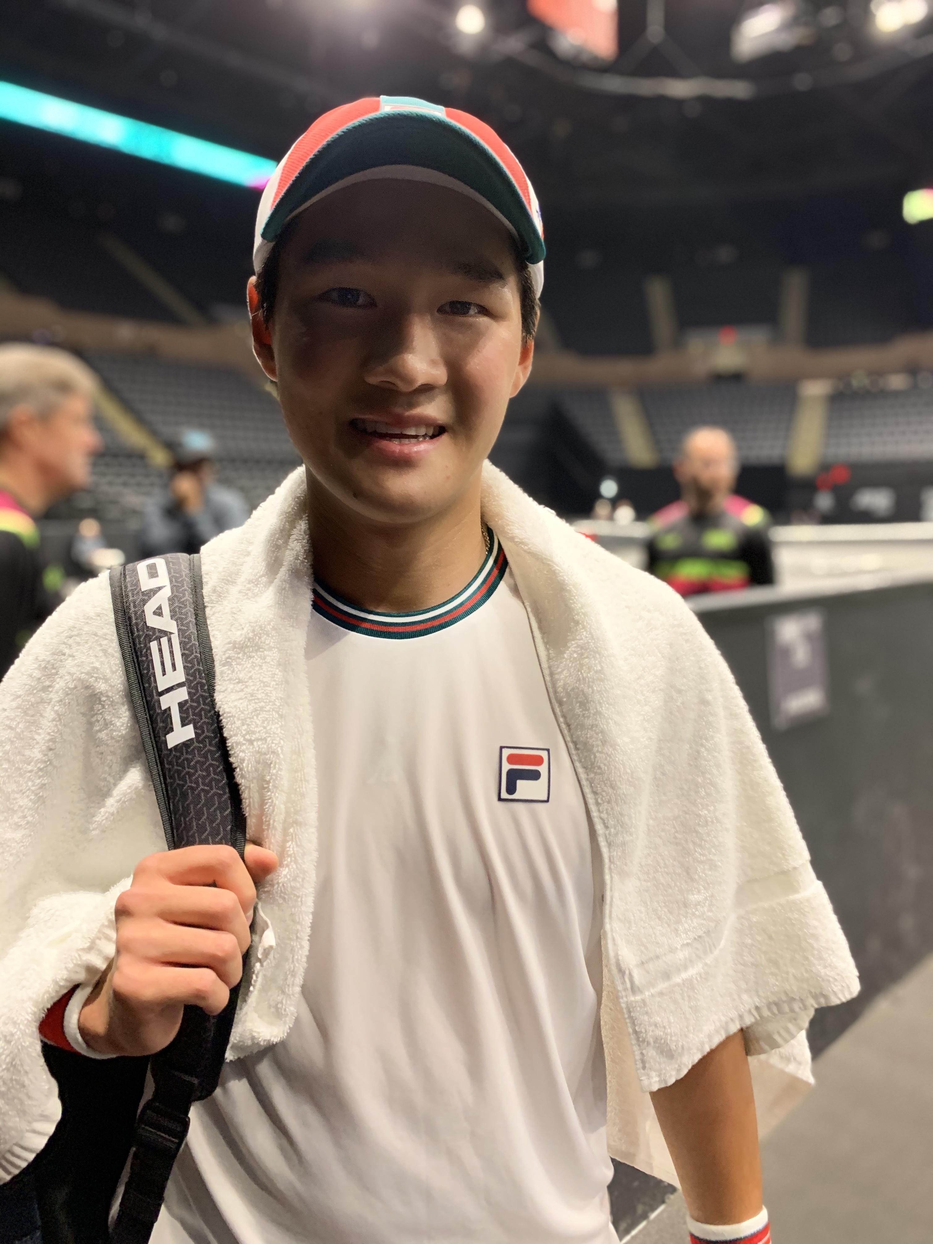 Soonwoo Kwon, 2020 New York Open (Photo: TennisAtlantic.com)