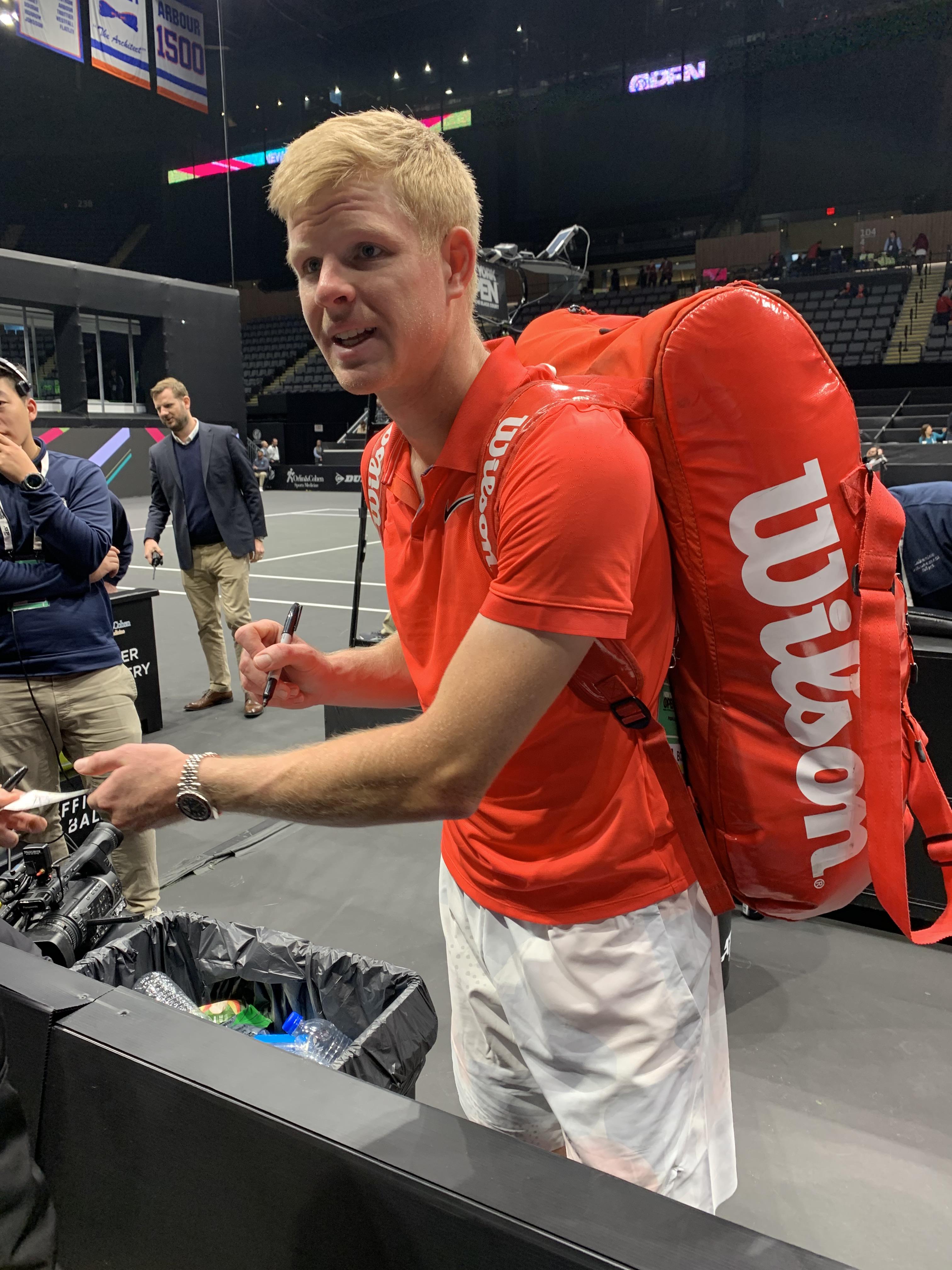 Kyle Edmund, 2020 New York Open